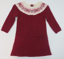 Janie and Jack Sweater Dress Toddler Girls Sz 18-24 Months Fair Isle Christmas
