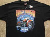 Harley Davidson Winter logo black Shirt Nwt Men's Large