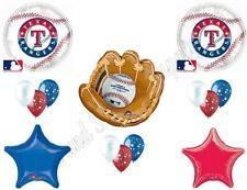 TEXAS RANGERS BASEBALL Birthday Party Balloons Decoration Supplies Game Glove