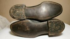 WWII  German officer's leather boots  VERY RARE