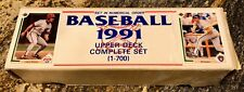 1991 Upper Deck Complete Factory Set - Chipper Jones - Jim Thome Rookie Cards