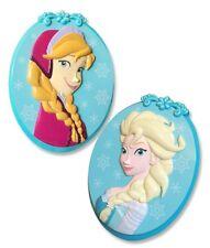 O2Cool Disney Frozen Anna & Elsa Boca Clips for Beach Towel Aqua Blue Ovals New