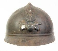 """Casque """"Adrian"""" Français WW1 d'artillerie (matériel original)"""
