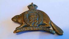 Original Royal 22nd Regiment WW1 Cap badge