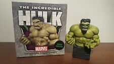 INCREDIBLE HULK 2007 MARVEL MINI BUST GREEN VERSION BOWEN DESIGNS #805 OF 2500!!