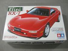 TAMIYA MAZDA EFINI RX-7 SPORT CAR E:1/24 NUEVO!!