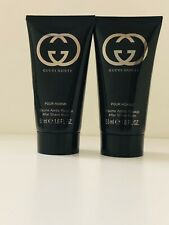 2✖️GUCCI GUILTY MEN AFTER SHAVE BALM  1.6oz / 50 ml each~Lot~NEW