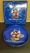 "Mickey Mouse Sorcerer's Apprentice ""Where Dreams Come True"" Collectors Plate"