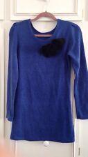 Femmes Taille 8 bleu électrique Robe Pull