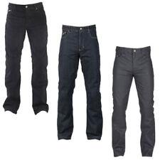 Pantaloni in tessuto di cotone per motociclista ginocchio