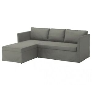 Ikea Brathult BRÅTHULT Cover for 3-seat corner sectional, Borred gray-green