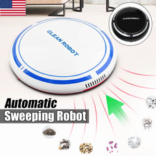Automatic USB Rechargeable Smart Robot Vacuum Floor Cleaner Sweeping Suction US