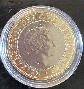 2001 Marconi Brilliant Uncirculated £2 Coin,Two pound,Bunc/Unc/Bu, Wireless