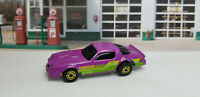 VERY RARE HTF Hot Wheels 1990 Camaro Z-28 Cereal Promo Purple w/GW Style Wheels