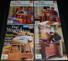 Fine Woodworking magazine lot of 7 issues 2016 complete year