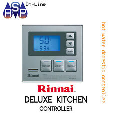 RINNAI DELUXE KITCHEN MASTER CONTROLLER SILVER WITH 15M CABLE