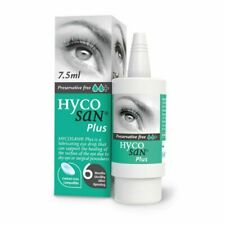 Hycosan Plus Preservative-Free Lubricating Eye Drops - 7.5ml