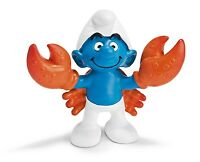 NEW SMURFS ZODIAC CANCER THE CRAB STARSIGN SCHLEICH PVC FIGURE PEYO RETIRED MINT