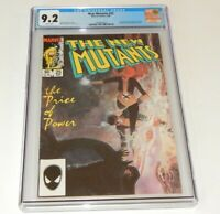The New Mutants #25 CGC 9.2 NM- Marvel Comics 1st  Appearance of LEGION in Cameo