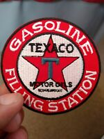 Texaco 3 In. Gas & Oil Logo Embroidered Patch Collectible Advertising New