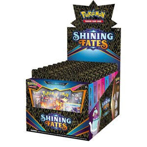 Pokemon Shining Fates Mad Party Pin Collection I Booster Packs I New & Sealed