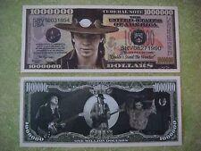 Blues Rock Guitarist: STEVIE RAY VAUGHAN ~*~ $1,000,000 One Million Dollar Bill