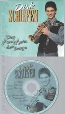 CD--DIRK SCHIEFEN -- - SINGLE -- DAS AVE MARIA DER BERGE