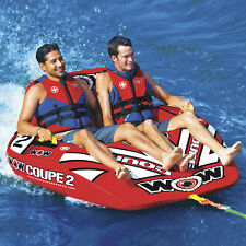 Wow Watersports WOW Coupe Cockpit Towable Tube/Lounger - 2-Person
