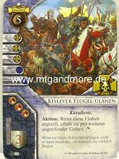 Warhammer Invasion - 1x #108 Kislever Flügel-Ulanen - Der Imperiale Thron