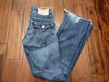 True Religion Billy Boot Cut Jeans Men's 28 Waist 33 Inseam
