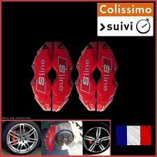 CACHE ETRIER FREIN TYPE, SLINE, S-LINE ROUGE UNIVERSEL TUNING AUDI A4 B5,B6,B7