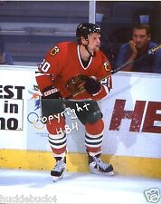 GARY SUTER Photo in action Chicago Blackhawks (c)