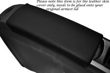 BLACK STITCHING FITS TOYOTA PRIUS T3 05-09 LEATHER ARMREST COVER ONLY