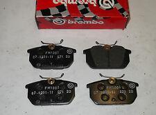 Brembo hp disco freno trasero pastillas Alfa Romeo 145,146/Fiat Punto,Uno-