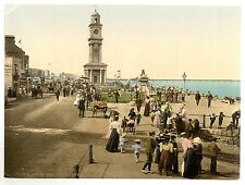 6 Victorian Pictures Herne Bay Clock tower The Pier Reculvers Old Photos Poster