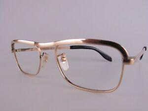 Vintage 20/000 Gold Filled Eyeglasses NOS Size 48-20 Made in Italy
