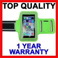 GREEN Sports Gym Running Armband Exercise Case for Apple iPhone SE 5S 5C 5 4S 4