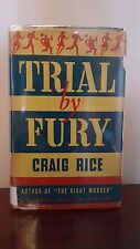 Trial By Fury, First Edition