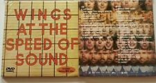 """PAUL McCARTNEY Wings at the Speed of Sound CD + DVD """"ROCKSHOW"""" [brand new]"""