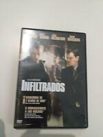 Dvd  infiltrados de Leonardo di carpio y matt damon