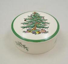 Spode - Christmas Tree - runde Dose mit Deckel - Bonboniere
