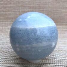 1196g 92mm NATURAL SKY BLUE CELESTITE CRYSTAL sphere ball Healing A632