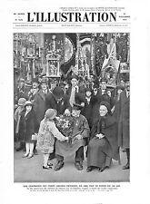 Confréries de Clamecy Bannières Corporations Marc Picq d'Oisy  GRAVURE 1932