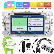 7inch 2DIN Android 6.0 Car DVD/CD Radio BT GPS Navi For Ford S-max/Focus/Galaxy