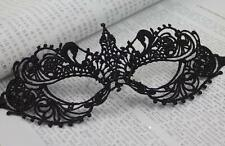 Black Lace Mask Venetian Mardi Gras Party Romance Halloween party Masquerade