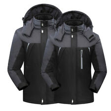 620c841cc97 Men Women Winter Warm Outdoor Jacket Fleece Lined Waterproof Ski Snowboard  Coat