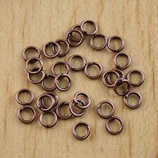 300Pcs Copper tone 5mm open Jump Rings H0425