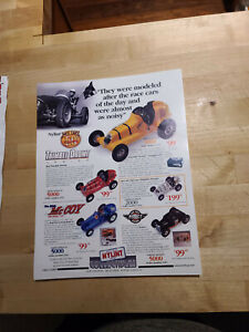 Advertising Flyer for Thimble-Drome Racing Cars