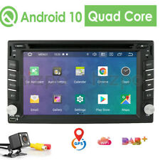 Android 10 Car DVD Player GPS Double 2 DIN Stereo Radio Head Unit BT Map Camera