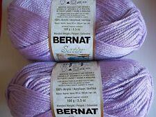 Bernat Satin yarn, Stardust, lot of 2 (200 yds each)